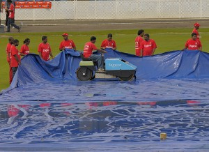 The water hog was busy on the first day - Brooks La Touche Photography and DigicelCricket.com