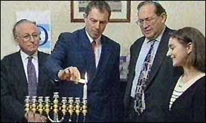Amiram Magid with Tony Bliar in 1997, correct? [Courtesy BBC originally]
