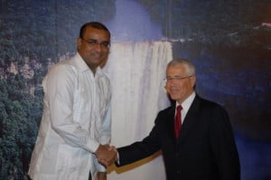 This is 2010 in Georgetown with Bharrat Jagdeo - so who's this GY (pun not avoided)? Click on links in entire article!