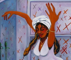 There are no Haitians on the West Indies Cricket team, perhaps if they were, the loa of Marie Laveau would not allow them to feel defeat - she could exorcise the curse that seems to follow this hapless lot?