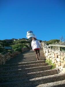 The steps seem neverending!
