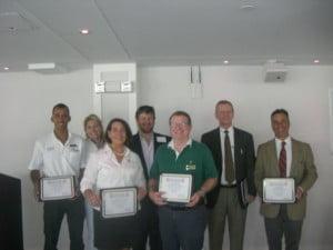 AYCA participants with Danny Donelan, Sales & Marketing Coordinator, (473) 435 7432 & danny.donelan@cnportlouismarina.com