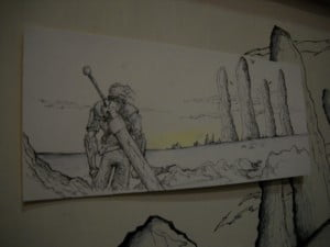 Sample of the Fantasy with the mercenary, thanks to Ideas ExMachina