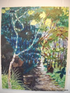 """""""Cherry Tree Hill - Revisited"""" Bridgetown Gallery is Tues. to Fri's. from 10:00 am to 4:00 pm, call 430-0054 for Sat. Appointments"""