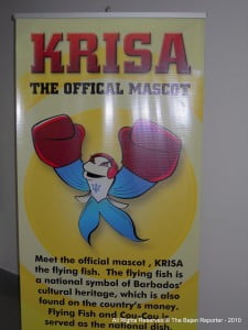 Barbados' Official Mascot for the AIBA Women's World Boxing Championships