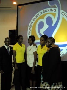 """BGIS - """"Minister Lashley took the opportunity to invite local, regional and corporate entities, to capitalise on the opportunity to support the international event in the form of sponsorships, advertising, the promotion and broadcasting of the bouts across the region."""""""