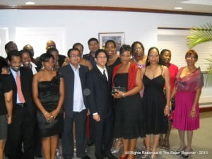 Portion of participants in Cohort 5 at UWI's CHSB
