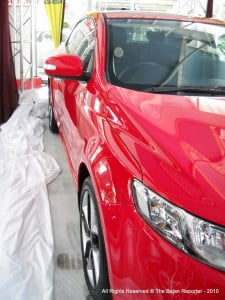 Sidelong glance at the Cerato which is up for grabs this year in the Sweet Soca competition