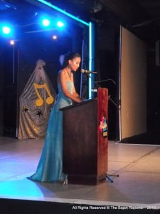 Leah Marville reminiscing all the inityiatives which came true thanks to her privilege of getting bestowed the stewardship of Miss Barbados