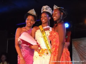 1st Runner Up, Overall Winner & 2nd Runner Up - Miss Barbados World 2010 at Plantation Garden Theatre