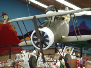 Snoopy always lost to the Red Baron in his battered ol' Sopwith-Camel