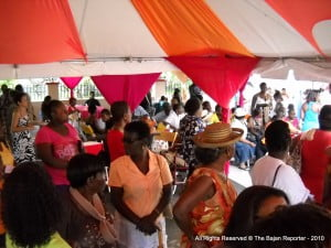 Despite pouring rain and many Crop Over events, hundreds showed up in Belleville for the Community Appreciation.