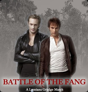 "Team Bill vs. Team Eric  Charity Grudge Match {ALL IMAGES COURTESY ""True Blood's Nest""}"