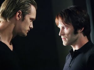 "'Sheriff of Area 5' Northman vs. 'Southern Vampire' Bill - Courtesy ""True Blood's Nest"""