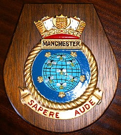 HMS Manchester - OR/RA