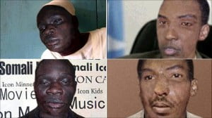 Composite portraits of alleged perpetrators via Interpol graphics