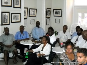 Fmr, B'dos Ambassador to the UN, Besley Maycock coordinates these lunchtime lectures which are a weekly service for Barbadians.