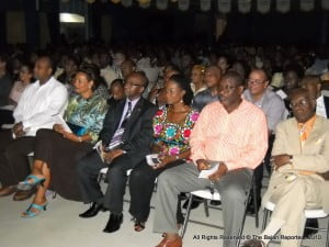 Number of DLP Stalwarts, Senators & MP's hanging on every word stated that night