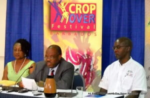 L to R: Donna Hunte-Cox, CEO with NCF Chair Ken Knight at centre, NCF Consultant David Jordan fills out rank at extreme right