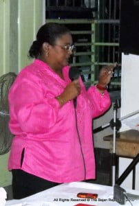 """""""Let us get the facts!"""" Opposition Leader of Barbados - Mia A. Mottley, QC & MP"""