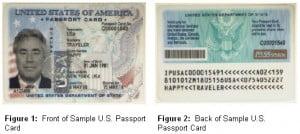 Prototype passport card