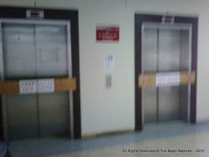 """""""Barbadians need the assurance that they can access quality health care."""" {Typical treatment of Elevators at QEH}"""