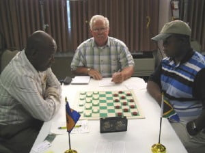 {FLASHBACK} Lubabalo Kondlo of Port Elizabeth, South Africa won the WCDF World Qualifier in GAYP at the Plaza Hotel in Las Vegas on September, 2007 and now has earned the right to challenge Mr. Ron 'Suki' King of Barbados for the title in 2008.