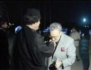 "IMAGE COURTESY - ""Aftermath News."" Convicted bomber shows gratitude to Libya's leader"