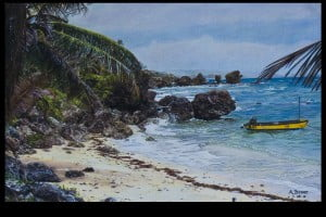Martin's Bay - as under the brushes of Allison Bohne