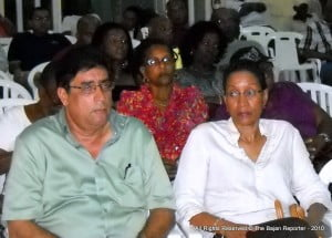 Former Barbados' Consul to Miami, Ben Martinez, was among those attending the event