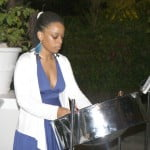 1.Pannist Mistral entertains guests at the COSCAP Foundation reception.