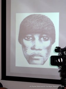 One of the sketches used by the long arm of Barbados' law to reach out and find the suspects who are charged and now await trial