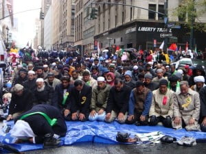 Is there a message here???? Yes, there is: Muslims are claiming America for Allah.