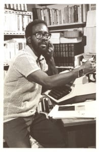 """Here is the late, great Timothy Callender - my favorite story from him was """"The Honest Thief"""" about a fight over a Banana tree"""