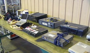 {FILE PHOTO} The large stock of items, which are being stored in police stations around the island, are said to value in excess of $150 thousand.