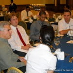 BNB's Ryan Proudfoot (extreme left, grey shirt - open-necked) was among those at the BCCI's September Luncheon