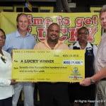 LHS jackpot winner
