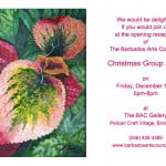 BAC Xmas show invitation