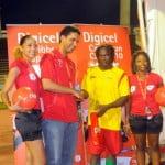 Digicel Golden Boot winner Kithson Bain