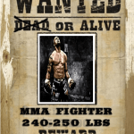 wanted MMA fighter