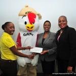 KFC Presents to the YWCA