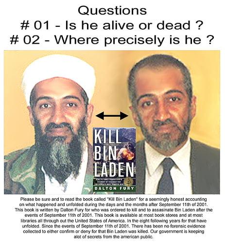 pictures osama bin laden dead. is osama bin laden dead or