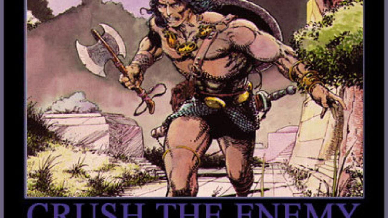 The Bajan Reporter | Conan The Barbarian 2011 – WARNING
