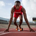 Digicel Brand Ambassador Usain Bolt   the Worlds fastest man