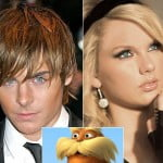 Zac Efron y Taylor Swift The Lorax