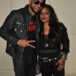 Ravi B and Holland based Chutney Superstar Ashni backstage at Ravi B Saturday