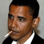 obama smoking