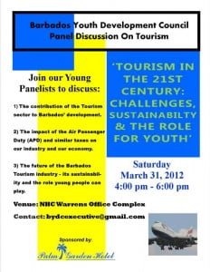 #youth #barbados #tourism #jobs #education #forum #discussion