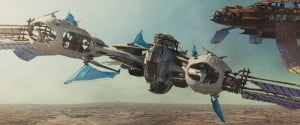 """JOHN CARTER"" Airship ©Disney Enterprises, Inc. All Rights Reserved"