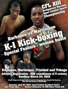 April 07 new date of BB! Barbados, Martinique, Trinidad and Tobago, St. Lucia & England